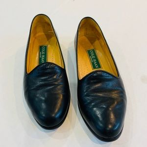 Cole Haan Black Leather Loafers size 6